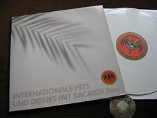 LP internationale Hits Bacardi rum Fancy white vinyl GERMANY 80er | M -