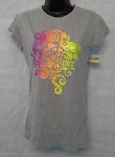 Womens New Balance Short Sleeve T Shirt Pink Size Small Brand New Grey #3000
