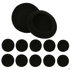10pcs/lot 35mm Black Foam Replacement Ear Cushions Earpads Covers for Headphones
