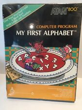 BRAND NEW Atari Computer 400 800 My First Alphabet Video Game