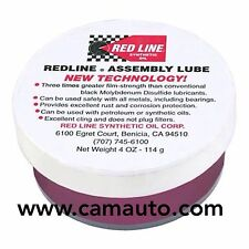 1 x RED LINE ENGINE / REBUILD / ASSEMBLY LUBE / GREASE - 114g TUB (4oz) 80312