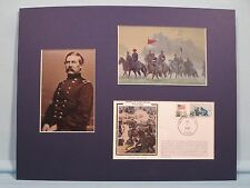 General Buford defends Gettysburg on the First Day & commemorative envelope
