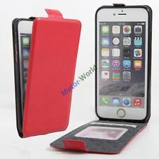 Magnetic Vertical Flip Leather slot wallet Holder Cover Case Skin