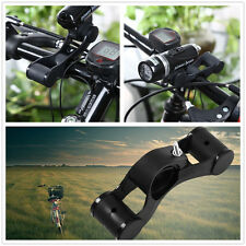 New Bicycle Handlebar Extensions Mount Extender Holders for Flashlight Bracket