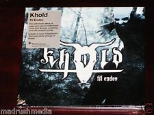 Khold: Til Endes CD 2014 Peaceville Records Germany cdvilef550 Slipcase NEW