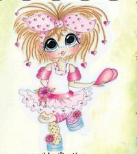 NEW My-Besties Clear cling Rubber Stamp GIRL MY HEART BELONGS TO U free us ship