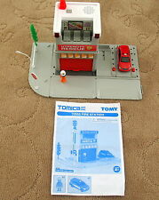 TOMY, Tomica, Motorized Railway, 70555 Fire Station, Lights & Sound, EUC