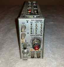 Tektronix 7B53AN Mixed Sweep Dual Time Base 100 MHz Plug In Triggering Amplifier