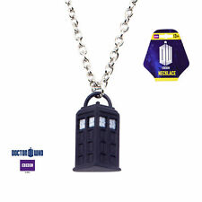 Tardis Pendant Phone Booth Pendant Dr Who Bbc Logo Necklace #Dwhotdpnk02