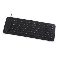 Quality USB Mini Flexible Silicone PC Keyboard Foldable for Laptop Notebook yu