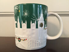 Starbucks London UK 2015 Christmas Holiday Relief Coffee Mug 16 oz - New