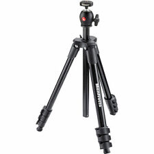 Manfrotto MKCOMPACTLT-BK Compact Light Aluminum Tripod (Black),  EU Seller! NEW!