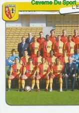 122 EQUIPE TEAM 1/2 FRANCE RC.LENS STICKER FOOT 2005 PANINI