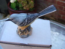 MACK  BIRD FIGURE THE GREY WAGTAIL  BOXED