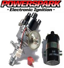 Lucas type 45D Powerspark Electronic Distributor & 12V coil & Powermax rotor arm