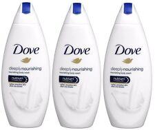 Dove DEEPLY Nourishing Shower Gel Nutrium Moisture 16.9 Oz / 500 ml Each 3 Packs