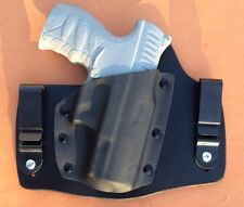 leather/kydex hybrid IWB tuckable holster Walther CCP