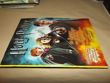 MAGICO MONDO DI HARRY POTTER-STICKER ALBUM-FIGURINE-5 FILM-PANINI-COMPLETO----*4