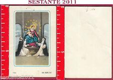 1867 SANTINO HOLY CARD MADONNA DEL ROSARIO DI POMPEI ED G MI ED. G MI. 1514