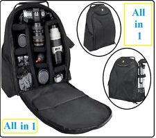 Deluxe Photo/Video Padded Backpack For Nikon D5100 D3100 D3200 D5200 D3000 D5000