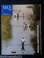 MQ - MASONIC QUARTERLY MAGAZINE - HURRICANE KATRINA - OCT 2005