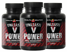 Male Enhancement Formula Unleash V Power. Size Up Maximum (3 Bottles)