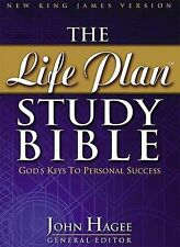 The Life Plan Study Bible : God's Keys to Personal Success by John Hagee...