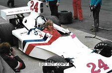 9x6 Photograph, James Hunt , F1 Hesketh 308E , British GP Silverstone 1975