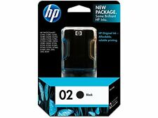 HP OEM 02 Black Ink Cartridge (C8721WN) for Photosmart Printers