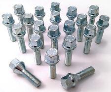 20 x extended wheel bolts M12 x 1.5, 17mm Hex, taper, 35mm thread - Saab