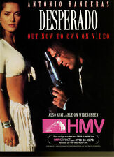 "Desperado ""Out Now On Video"" 1997 Magazine Advert #5404"