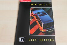 115642) Honda Civic - City Edition - Prospekt 198?