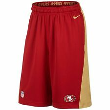 Nike Men's San Francisco 49ers Speed Fly 2.0 Training Shorts (Size XL) MSRP $50