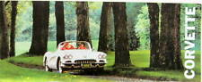 1960 CHEVROLET CORVETTE CATALOGUE EN ANGLAIS