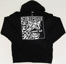 SUBHUMANS Internal Riot Zipper Hoodie Sweatshirt Full Zip Hoody Adult LARGE New