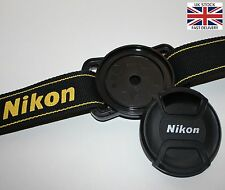 Lens Cap Holder Buckle Keeper for Nikon 52mm 58mm 67mm size Canon Sony Pentax UK
