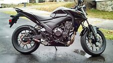 Coffman Shorty Exhaust: Honda CB500F-X 2013-15