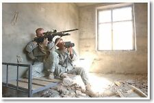 Army Sniper Team - NEW Military Poster