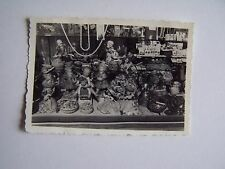 Vintage Photo Shop Front Window Scarborough Area 1950s Dolls Buttons Jewellery