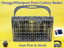 Omega/Whirlpool Dishwasher Spare Parts Cutlery Basket Rack Replacement Grey NEW