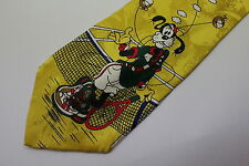 WALY DISNEY men's silk neck tie made in Italy