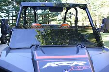 """Polaris RZR 900S - XP1K -XP4 and turbo models 1/4"""" thick tinted half windshield"""