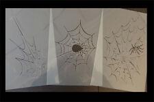 Airbrush Schablonen Set Spinnennetz