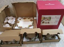 20 Pcs Royal Albert Old Country Roses 5 Pc Place Setting Service For 4 In Box R1