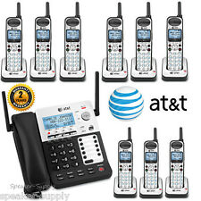 AT&T SYNJ Corded SB67138 w/ 9 Cordless SB67108 Handsets DECT Phone System 4 Line
