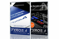 YAMAHA Tyros 4 Keyboard LEARNING DVD SET step for step and Secret of the Pros