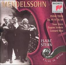 Mendelssohn: Piano Trios Nos. 1 & 2, Opp. 49,66 by Felix Mendelssohn, Eugene Is