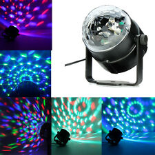 New RGB Magic Ball Crystal Lighting Effect Light Lamp Stage LED DJ Disco Party