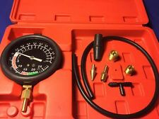 Vacuum & Fuel Pump Pressure Test Of Vacuum Pressure Gauge Mechanical Electrical
