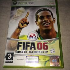 FIFA 06 Road To The World Cup Xbox 360 Game complete
